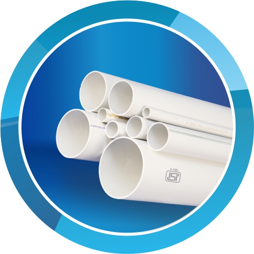 ISI Marked uPVC Pasting Pipes (IS 4985)