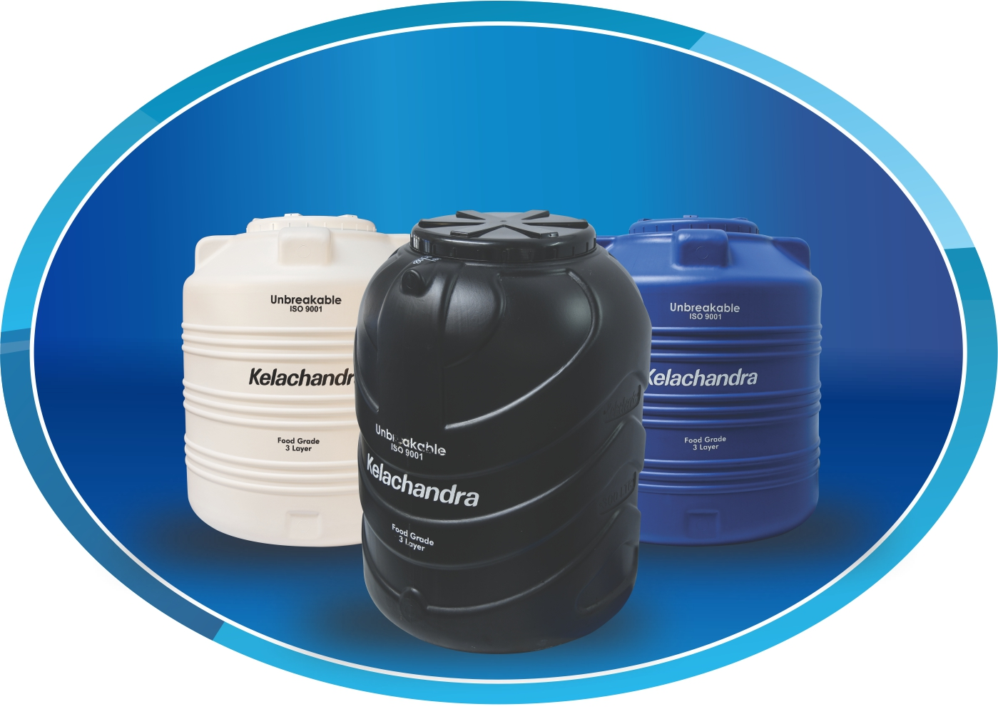 HDPE Over Head Water Tank